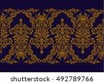hungarian folk art | Shutterstock .eps vector #492789766
