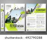 flyers design template vector....   Shutterstock .eps vector #492790288