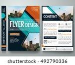 cover book presentation... | Shutterstock .eps vector #492790336