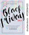 black friday sale template... | Shutterstock .eps vector #492806410