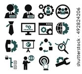 system  user  administrator... | Shutterstock .eps vector #492824206