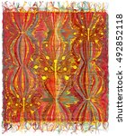 Vertical Weave Tapestry With...