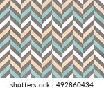 watercolor blue  beige and gray ... | Shutterstock . vector #492860434