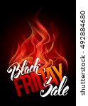 sale advertising inscription... | Shutterstock .eps vector #492884680