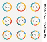 circle infographics concept... | Shutterstock .eps vector #492970990