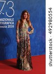Small photo of VENICE, ITALY - SEPTEMBER 02: Grace Jane Gummer during the 73th Venice Film Festival 2016 in Venice, Italy