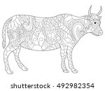 Cow Anti Stress Coloring Book...