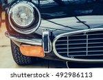 classic car. | Shutterstock . vector #492986113