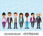 concept of vector  african... | Shutterstock .eps vector #492986440