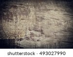 dark wood background  wooden... | Shutterstock . vector #493027990