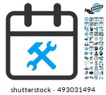 working day pictograph with... | Shutterstock .eps vector #493031494