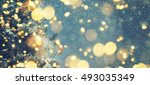 christmas background  | Shutterstock . vector #493035349