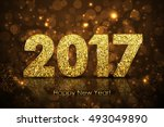 Vector Happy New Year 2017...