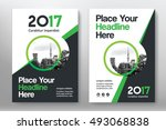green color scheme with city...   Shutterstock .eps vector #493068838