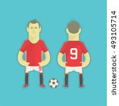 football player | Shutterstock .eps vector #493105714