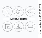 arrows icons. download  back...
