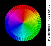 abstract infographic rainbow...   Shutterstock .eps vector #493133470