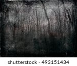 Dark Background With Barren...