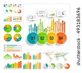 infographics set with color...   Shutterstock .eps vector #493183696