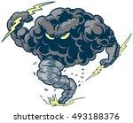 vector cartoon clip art... | Shutterstock .eps vector #493188376