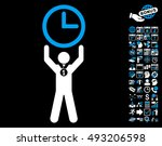 time champion pictograph with... | Shutterstock .eps vector #493206598