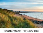 The Beach At Crow Point At...