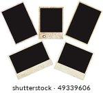 blank grunge photo frame ready... | Shutterstock . vector #49339606