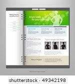 website design template  vector.   Shutterstock .eps vector #49342198