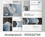 social media posts set.... | Shutterstock .eps vector #493426744