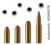 vector shot gun bullets and...