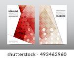 brochure layout template flyer... | Shutterstock .eps vector #493462960