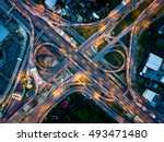 Aerial Highway Junction In The...