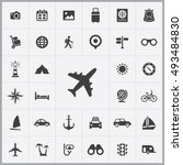 travel icons universal set for... | Shutterstock . vector #493484830
