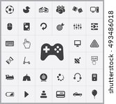 game icons universal set for... | Shutterstock . vector #493486018