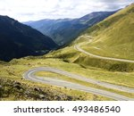 mountain road   Shutterstock . vector #493486540