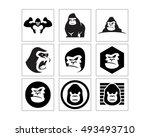 black gorilla icon