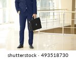 lawyer  at office building | Shutterstock . vector #493518730