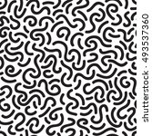 abstract smooth line pattern   Shutterstock .eps vector #493537360