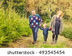happy family with child... | Shutterstock . vector #493545454