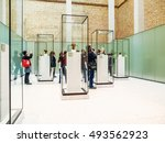 berlin  germany   circa april ... | Shutterstock . vector #493562923