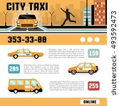 city taxi online services web... | Shutterstock .eps vector #493592473