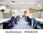modern office interior | Shutterstock . vector #49368244