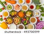 salad | Shutterstock . vector #493700599