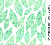 vintage seamless pattern with... | Shutterstock . vector #493738399