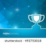 abstract creative concept... | Shutterstock .eps vector #493753018