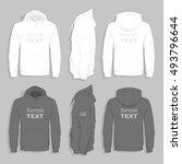 men sweater design template   Shutterstock .eps vector #493796644