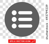 items round icon. vector eps...