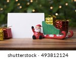 Christmas Concept  Toy Santa...