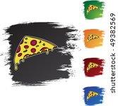 pizza slice | Shutterstock .eps vector #49382569