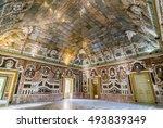 bagheria  italy   september 10  ... | Shutterstock . vector #493839349